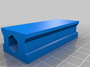 Printable Linear Rail, Horizontal