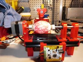 remix of Niko's Egg-painter robot (OpenBuilds)