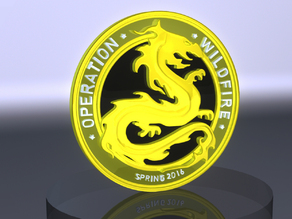 CS:GO Wildfire coin