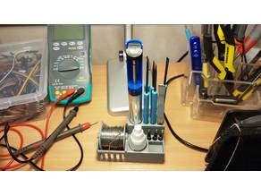 Solder Dispenser and Tools Holder