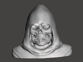 Skeletor-bust