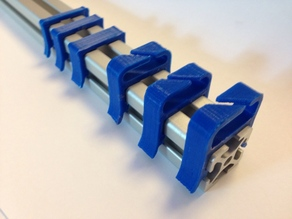 a bunch of 2020 Misumi Cable Clips