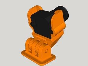 Adjustable Universal Fatshark 600TVL Camera Mount [sticky mount]