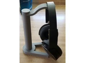 Headphone stand small print beds
