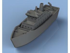 Bathtub Exploration Ship