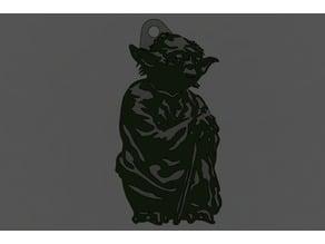 Star Wars Yoda  keychain