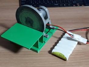 Mini Disk Sander