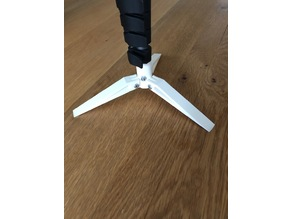 Manfrotto Compact Advanced Monopod Tripod Feet Mod