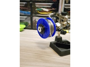 Yet Another Tin spool holder for 3rd hand.