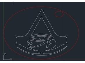 Laser Engraved Symbol
