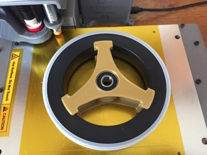 Flexible Filament Sample Spool Adapter