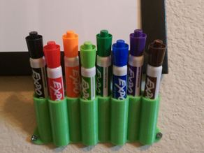 Expo White Board Pen holder for 8 pens