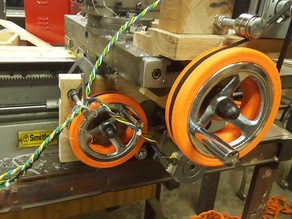 Lathe Pulley gt2 tooth size