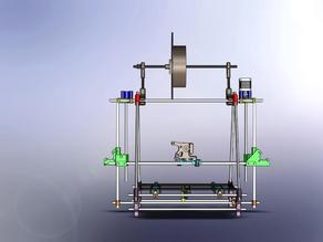 Reprap, Prusa, Z-axis coupler stabilizer
