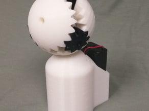 Motorized Gear Sphere