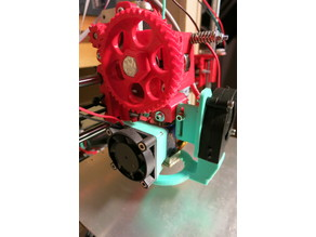 Wades Extruder Radial Fan Mount