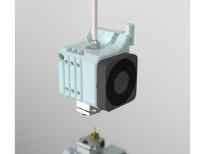 Creality Modular E3D v6 Optimized Airflow Mount