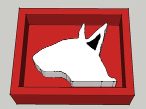 English Bull Terrier Mould