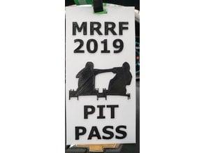 MRRF Spool Racing Pit Pass Lanyard