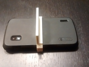 Nexus 4 + nillkin super frosted shield case car holder