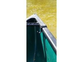 Canoe gunwale clip
