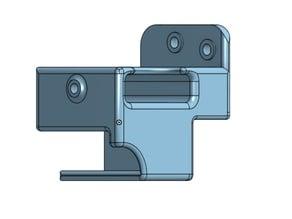 Ender 3 Micro SD extension adaptor holder