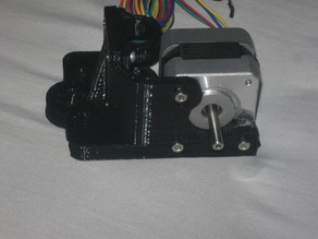 SDP bearing mount for x-axis