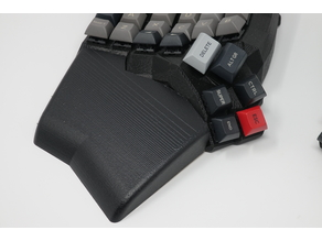 Dactyl Manuform 5x6 keyboard wrist rests