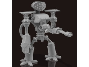 Armorcast Reaver Titan, (12 inch) . 28mm scale.