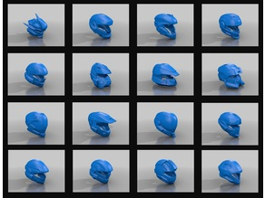 """Multiple Halo Helmets Revised""  ( Choose your Favorite )"