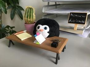 Miniature office desk