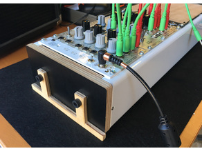 Standups for Koma Eurorack Case
