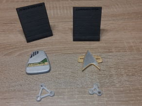 Star Trek Voyager - Holder for Communicator and EMH mobile Emitter