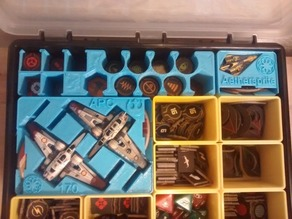 Storage Bins for Star Wars X-Wing Miniatures Game Second Edition (2.0)