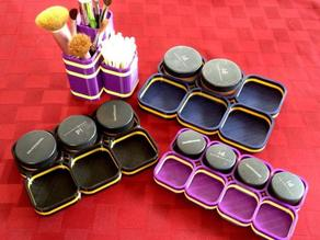Mineral Makeup Organizers