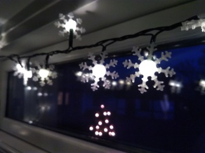 Snowflake For 5mm Led christmas light