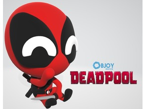 Dead Pool - Figurine and Keychain - by Objoy Creation