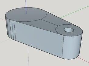 Prusa i3 Z-shaft end stopper