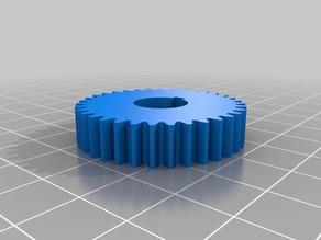 7 X 10 Mini lathe change gears (metric dimensions)