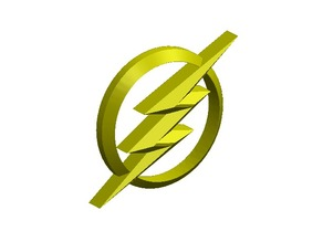 The Flash logo CW