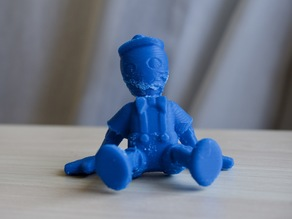 sitting puppet