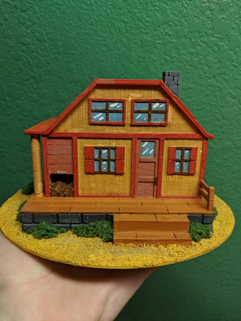 Stardew Valley - Big House by Maximite - Thingiverse
