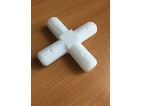 PVC 4-WAY 20 mm connector