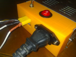 Universal power supply cover