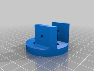 square tubing quadcopter dt750 mount