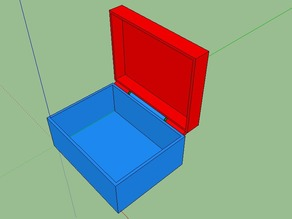 Simple Loose Hinge Box