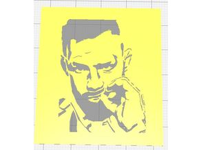 FIGHTERS/BOXERS SET OF SIX STENCILS