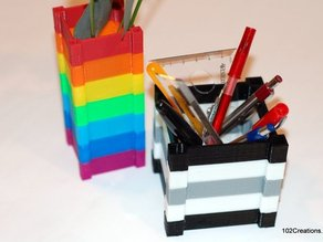 Stack up basket (multipurpose & multicolor)