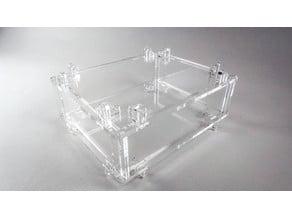Viking connector box gift box electronics enclosure parametric generator
