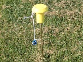 Model Rocket Lauch Rod Cap
